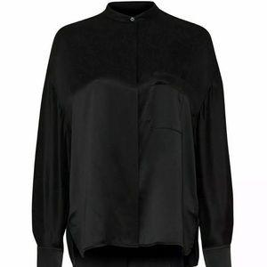 Vince silk button down blouse